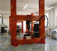 土木工程简支梁加载系统钢桁架实验模型装置