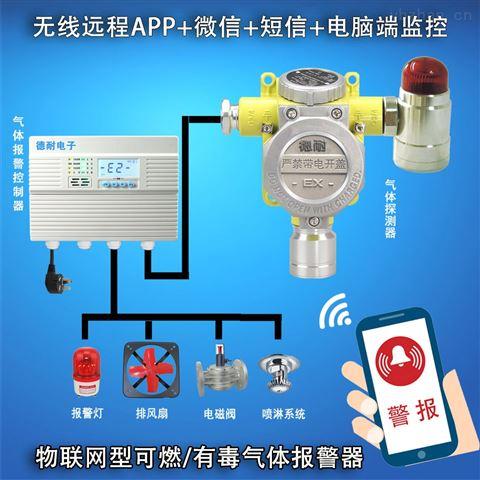 实验室氧气气体泄漏报警器,无线监控