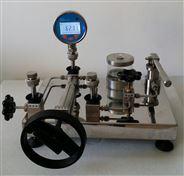 赛斯顿台式手动液压源  压力表校验台