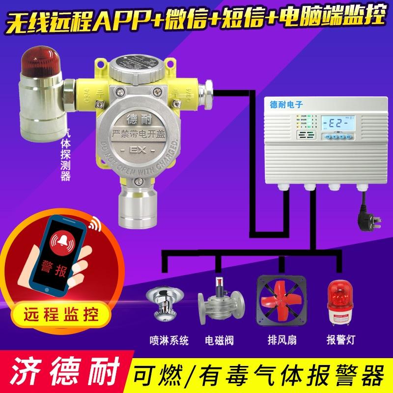 固定式氧气报警器,气体泄漏报警装置