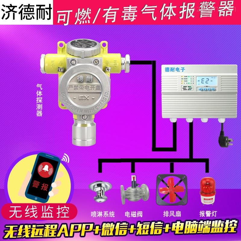 工业罐区二硫化碳气体泄漏报警器,可燃性气体探测器