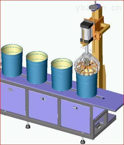 油墨、乳液、胶黏剂半自动灌装机