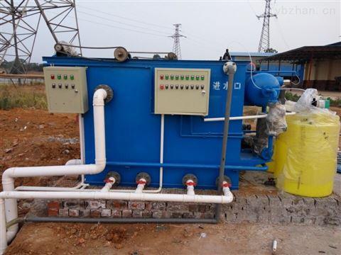 玉溪地埋式一体化污水处理设备集成化程度