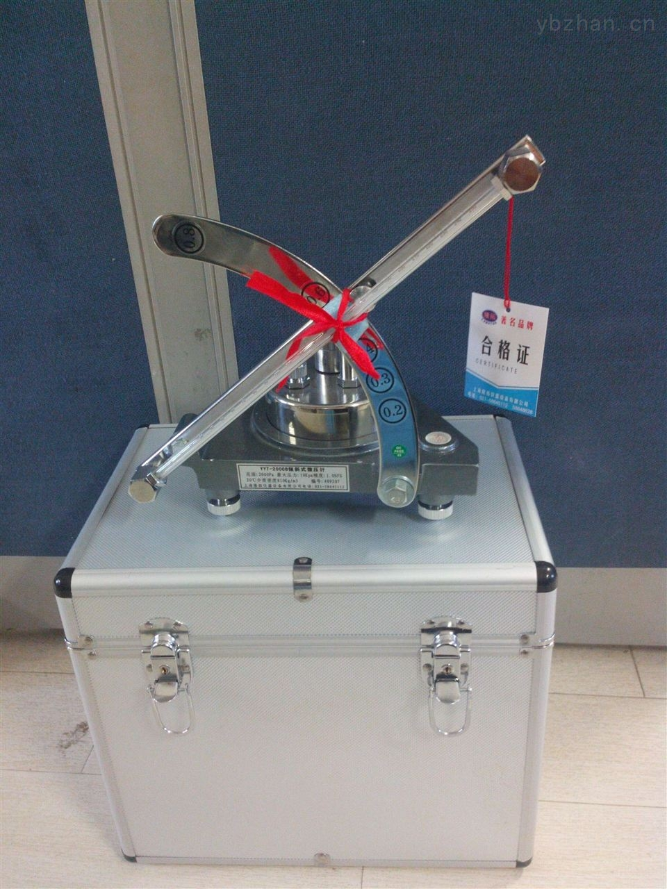 實驗室用傾斜式微壓計,YYT2000B傾斜式微壓計0.5