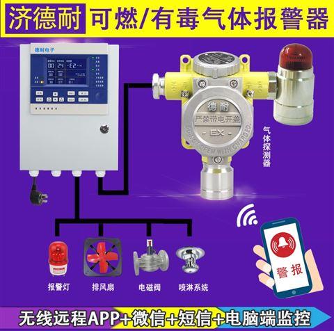 炼钢厂车间酒精气体检测报警器,远程监控