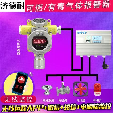 工业用氮气检测报警器,无线监控