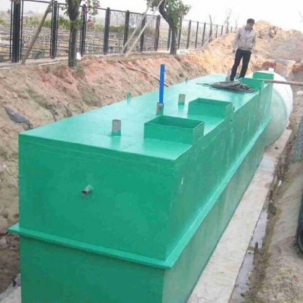 LD-成都市景区污水处理设备生产工艺