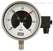 磁助式电接点压力表