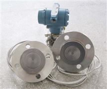 带远传法兰式液位传感器,双法兰液位变送器