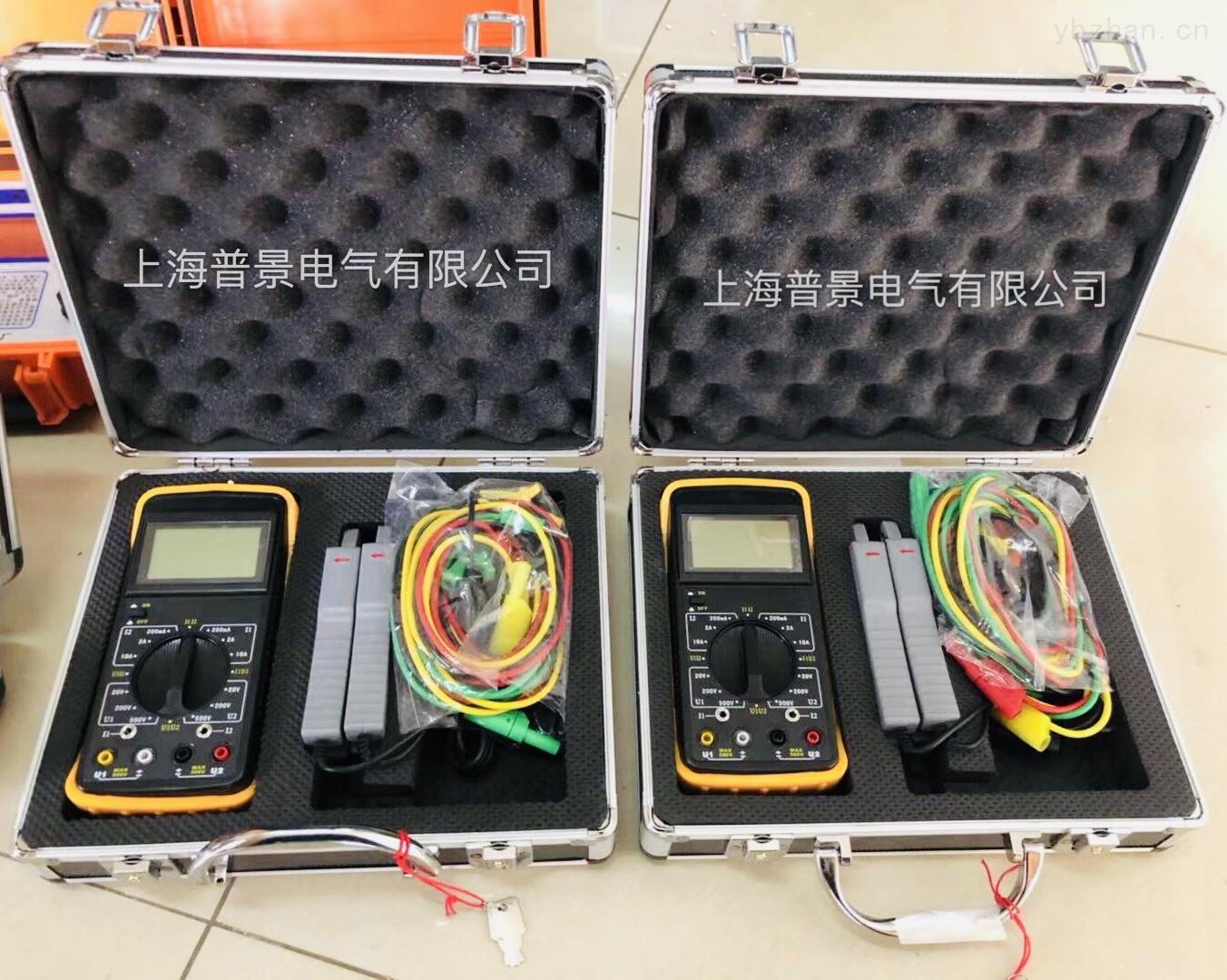 1mA~5A-普景电气 数字式双钳相位伏安表 承试五级