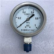 高温耐腐耐震不锈钢压力表