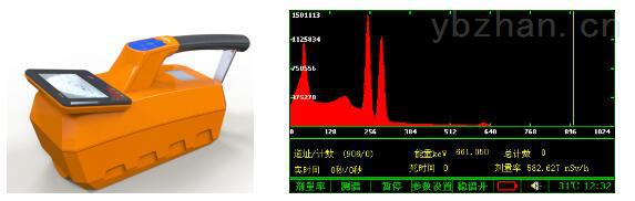 RAM-200D 便携式γ能谱仪