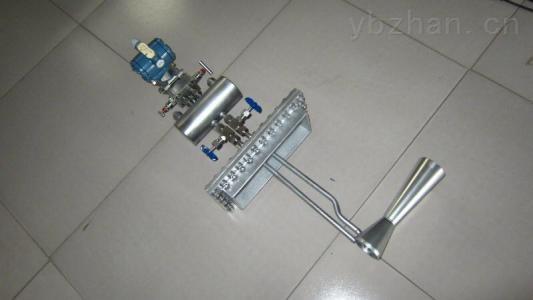 插入式双文丘里管流量计,差压式流量传感器