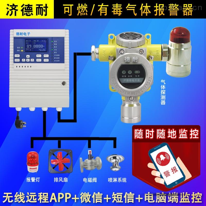 工业用乙醇泄漏报警器,可燃气体探测器