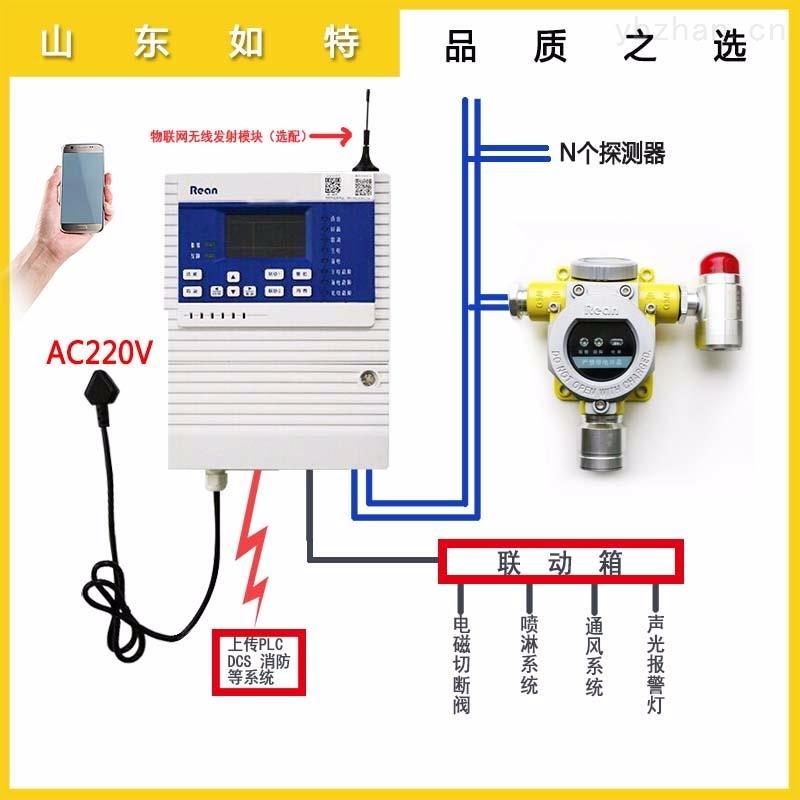 油库罐区柴油浓度报警器 可燃气体检测报警器