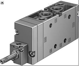 NVF3-MOH-5/2-K-1/4-E德费斯托NAMUR型连接面电磁阀