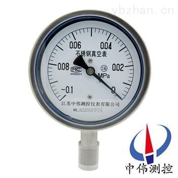 不锈钢真空压力表,不锈钢压力表