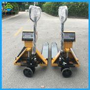 手动液压叉车电子秤/3吨托盘车移动称重磅秤