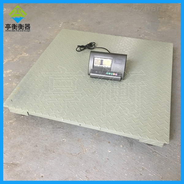 落地式平台秤 (现货批发)1t小地磅尺寸1.2米
