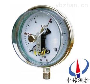 抗振磁簧式電接點壓力表