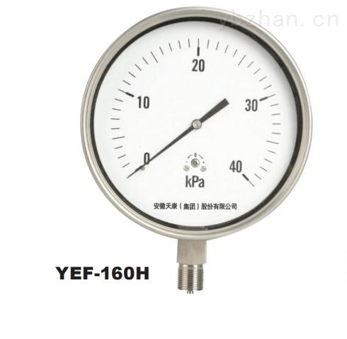 YE-天康集团膜盒压力表