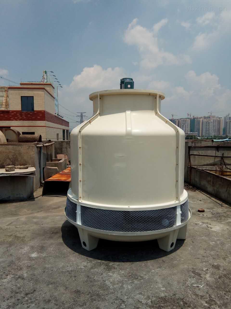 节能高效LXT-10-圆形玻璃钢冷却塔