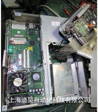 西门子工控机画面在开机界面不动维修