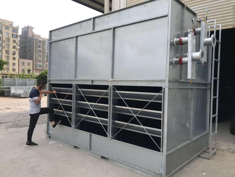 湖南長沙100T閉式冷卻塔廠家報價