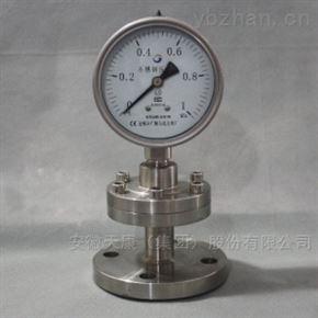 工字型隔膜压力表价格