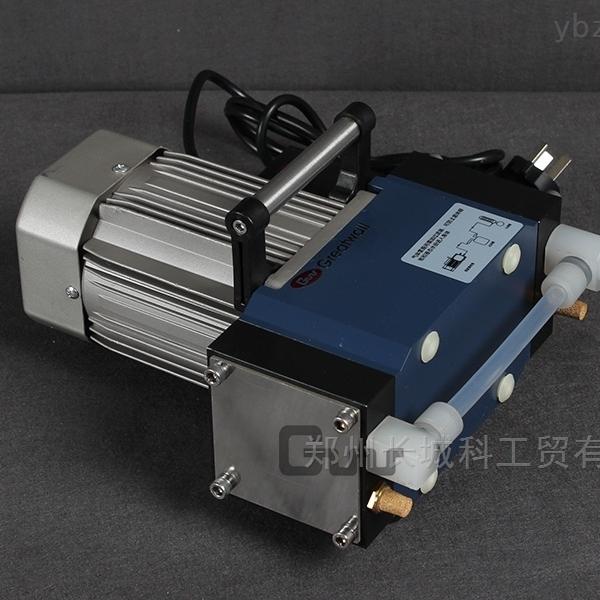 小型无油无水高真空度隔膜真空泵