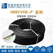 VDE认证正标H03VVH2-F