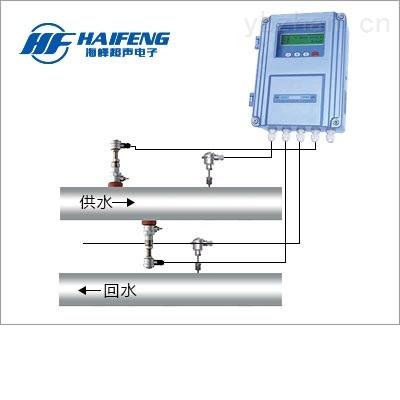 DN50-DN6000大口径热量表 PT100铂电阻 插入式超声波热量表厂家直销