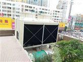 东莞LXRT系列200T低噪音型横流式方形冷却塔