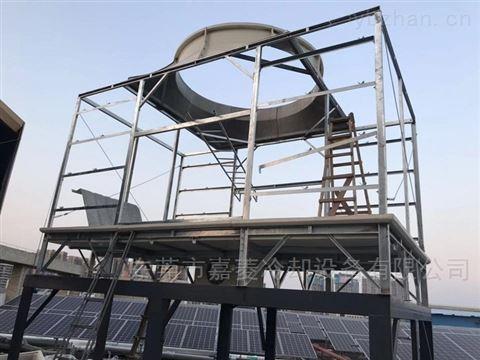 湖南150T方形冷却塔购买-横流式方塔