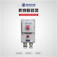 BDZ52-100A/380V防爆斷路器 防爆漏電開關