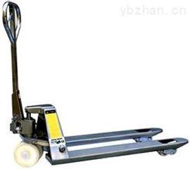 2吨电子防爆叉车秤 不锈钢电子秤液压搬运车