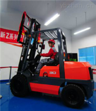 上海工厂货物搬运电动叉车称重