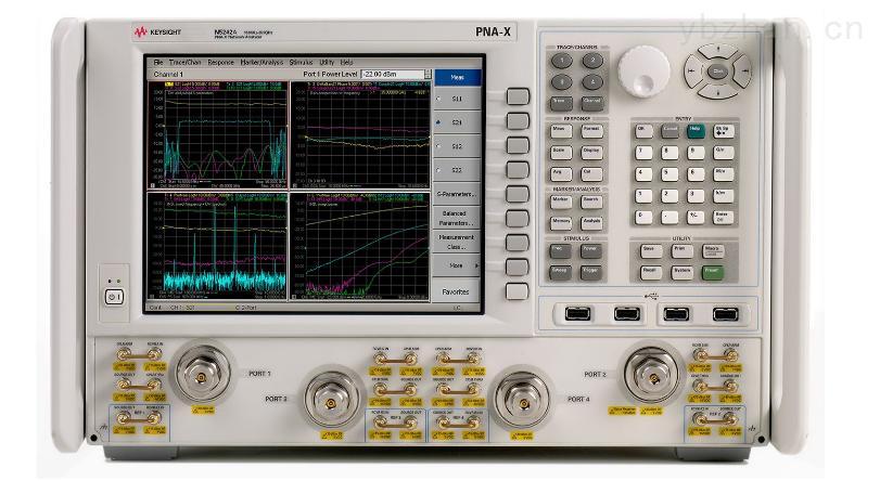 N5242A-是德网分 N5242A PNA-X 微波网络分析仪