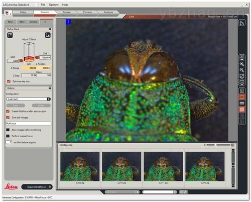 Leica LAS Multifocus-徠卡多焦點捕捉模塊Leica LAS Multifocus