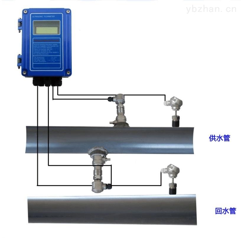 插入式超声波热量表热量计