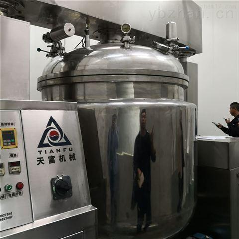 供应二手1000L真空乳化搅拌机