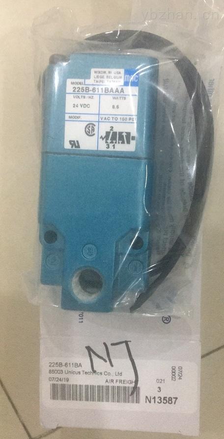MAC電磁控制提升閥116B-591BAAA技術數據