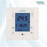 RDE100西门子嵌入式房间温控面板