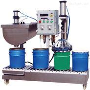 自動鎖蓋液體灌裝機