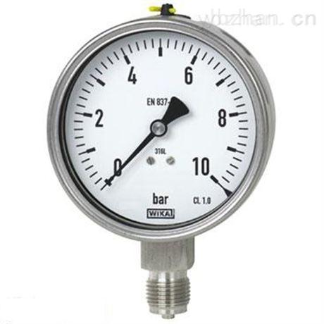 不锈钢法兰隔膜压力表技术参数
