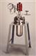 正規日本TAIATSU耐壓硝子金屬制反應容器