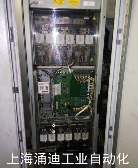 西門子6SE70變頻器里面冒煙(當天解決)