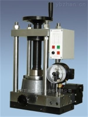 FYD-30型北京现货实验室小型粉末压片机一体式油压机