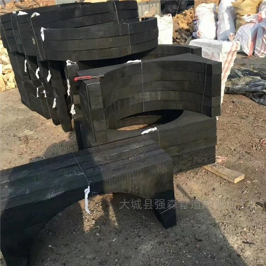 方圓管道木托
