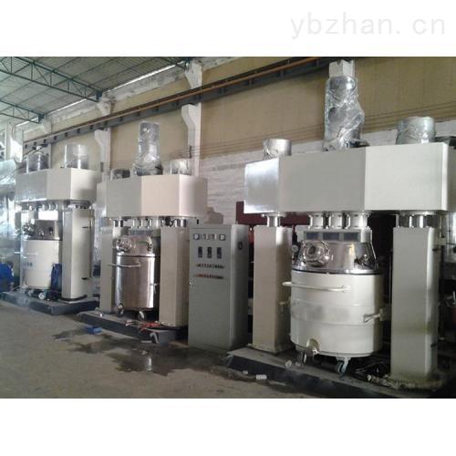 广西涂料平台分散机耐候防霉胶生产线强力粉碎机反应釜